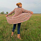"""Одежда ручной работы. Ярмарка Мастеров - ручная работа Вязаный кашемировый кардиган  """"Меланж"""". Handmade."""