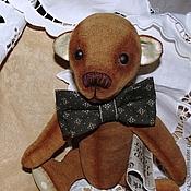 Куклы и игрушки ручной работы. Ярмарка Мастеров - ручная работа Мишка тедди Тимоша, коллекционная игрушка ручной работы. Handmade.