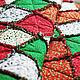 """Текстиль, ковры ручной работы. Заказать Лоскутный плед """"Новогодний"""". Annikki Patchworks. Ярмарка Мастеров. Лоскутное одеяло, плед, синтепон"""