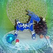Куклы и игрушки ручной работы. Ярмарка Мастеров - ручная работа Коза новогодняя. Handmade.