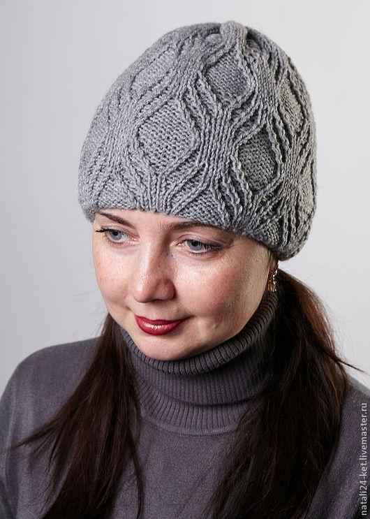 Шапки ручной работы. Ярмарка Мастеров - ручная работа. Купить зимняя шапка и манишка. Handmade. Белый, манишка, одежда