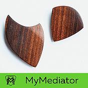 Музыкальные инструменты handmade. Livemaster - original item Set of picks out of walnut wood Killspeed. Handmade.