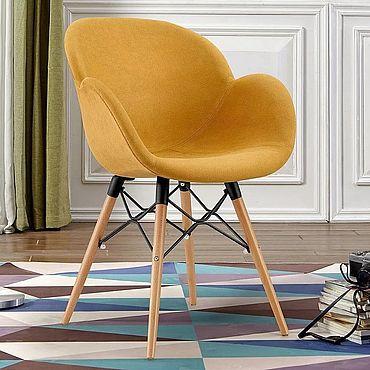 Мебель ручной работы. Ярмарка Мастеров - ручная работа Стул Бирмингем персиковый. Handmade.