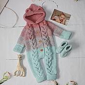 Одежда детская handmade. Livemaster - original item Knitted children`s jumpsuit
