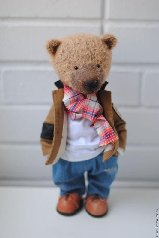Мишки Тедди ручной работы. Ярмарка Мастеров - ручная работа. Купить Медведь - Макс. Handmade. Медведь, авторский мишка тедди
