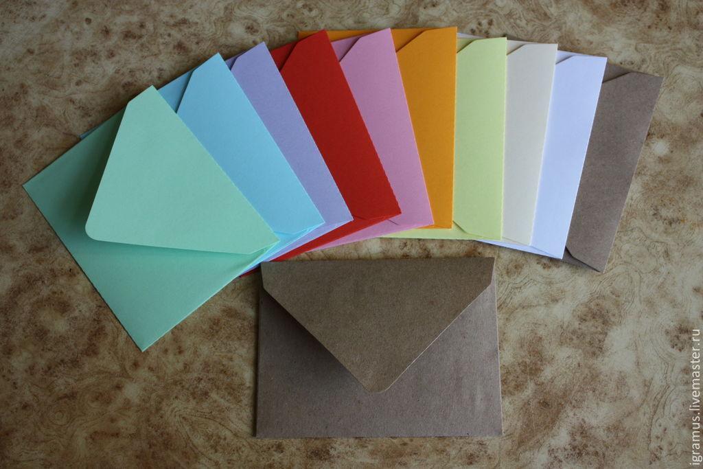 Папка из цветной бумаги своими руками