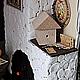 Кукольный дом ручной работы. Домик запасливого мышонка 2. Другой мир. Ксения Сетявина.. Ярмарка Мастеров. Кукольный домик