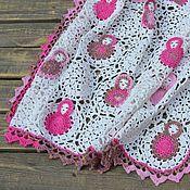 Для дома и интерьера handmade. Livemaster - original item Blanket for a newborn Dolls, plaid viisko cotton. Handmade.