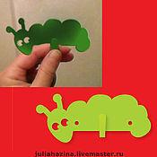 """Для дома и интерьера ручной работы. Ярмарка Мастеров - ручная работа крючок """"червячок"""". Handmade."""