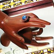"""Украшения ручной работы. Ярмарка Мастеров - ручная работа Винтажное кольцо """"Лазурь"""". Handmade."""