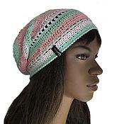 Аксессуары handmade. Livemaster - original item Nezhana cotton hat. Handmade.