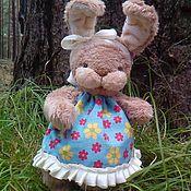 Куклы и игрушки ручной работы. Ярмарка Мастеров - ручная работа Тедди зайка Мила. Handmade.