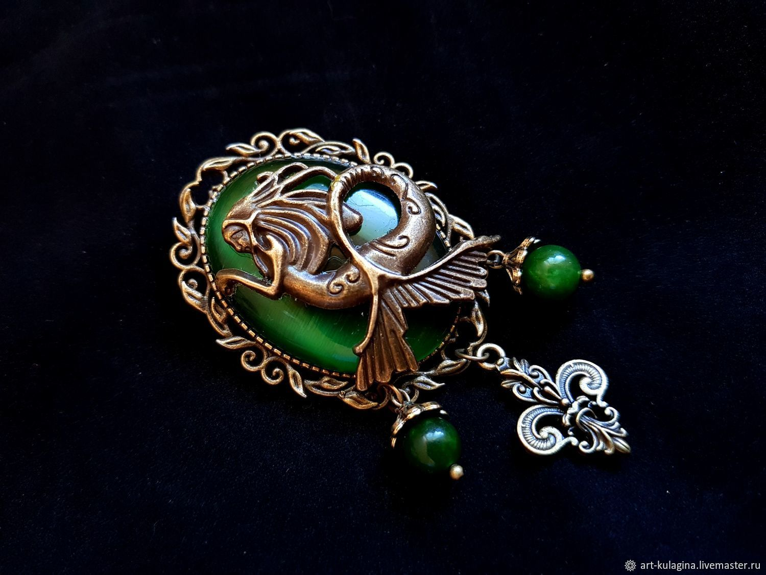 Brooch 'Ariel', Brooches, Moscow,  Фото №1