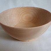 Посуда ручной работы. Ярмарка Мастеров - ручная работа Тарелка деревянная из кедра (миска). Handmade.