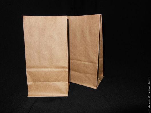 Упаковка ручной работы. Ярмарка Мастеров - ручная работа. Купить Крафт пакет 17 х 9 х 6,5 см  коричневый. Handmade.
