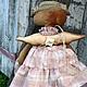 Ароматизированные куклы ручной работы. Луша.. Арина Бадьянова. Текстильные куклы. (badyanova). Ярмарка Мастеров. Подарок на день рождения, корица