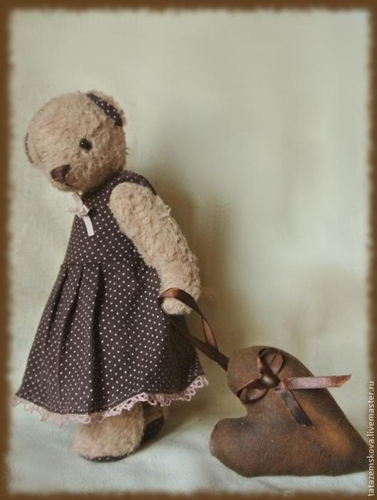 """Мишки Тедди ручной работы. Ярмарка Мастеров - ручная работа. Купить Мишка """"...и чье-то сердце унесла с собой..."""". Handmade."""