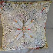 Для дома и интерьера ручной работы. Ярмарка Мастеров - ручная работа красивый чехол на подушку Наследство. Handmade.