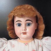 Куклы и игрушки ручной работы. Ярмарка Мастеров - ручная работа Антикварный мохеровый парик. Handmade.