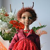 """Куклы и игрушки ручной работы. Ярмарка Мастеров - ручная работа """"Букашка Ягодка"""". Handmade."""
