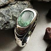 Украшения handmade. Livemaster - original item Bright Colombian Emerald of 1,88 ct. in a handmade silver ring. Handmade.