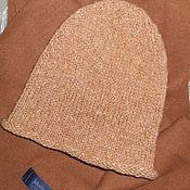 Аксессуары ручной работы. Ярмарка Мастеров - ручная работа Вязаная шапка- бини от  Монвизо, 100% шерсть. Handmade.