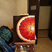 Картины ручной работы. Ярмарка Мастеров - ручная работа Картины: Грейпфрут. Handmade.