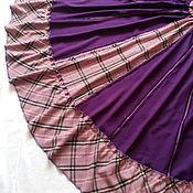 Одежда ручной работы. Ярмарка Мастеров - ручная работа Юбка шерстяная длинная в стиле бохо из 16 клиньев. Handmade.