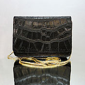 Сумки и аксессуары handmade. Livemaster - original item Handbag made of CROC-SAVOIE. Handmade.