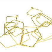 handmade. Livemaster - original item geometry. Basis for a necklace 20h4 cm. Handmade.
