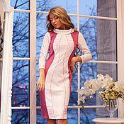 """Одежда ручной работы. Ярмарка Мастеров - ручная работа Платье """"Песочные часы"""" rose. Handmade."""