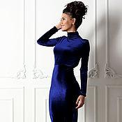 Одежда ручной работы. Ярмарка Мастеров - ручная работа Бархатное платье French charm. Handmade.
