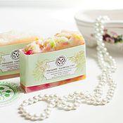 Косметика ручной работы handmade. Livemaster - original item Soap from scratch natural Silk bliss with silk proteins. Handmade.