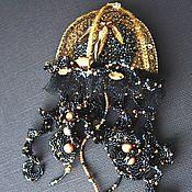 Украшения ручной работы. Ярмарка Мастеров - ручная работа Черная королева. Handmade.