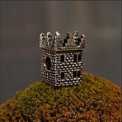 Материалы для творчества handmade. Livemaster - original item Winterfell tower charm. Handmade.