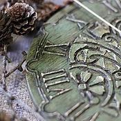 """Для дома и интерьера ручной работы. Ярмарка Мастеров - ручная работа Часы """"Загадки леса"""". Handmade."""