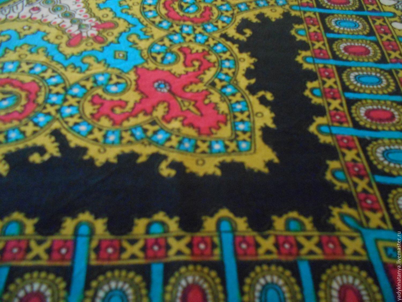 Винтаж: 2 платка из крепдешина, Винтажная одежда и аксессуары, Санкт-Петербург, Фото №1