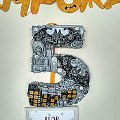 Подарки к праздникам ручной работы. Ярмарка Мастеров - ручная работа Цифра ко дню рождения. Handmade.