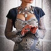 """Одежда ручной работы. Ярмарка Мастеров - ручная работа Корсетное платье """"Королевская Охота"""". Handmade."""