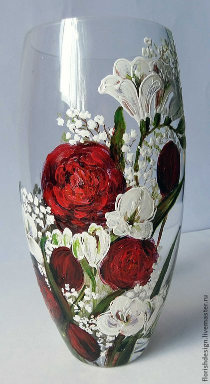 Vase Red Summer Shop Online On Livemaster With Shipping