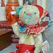 Куклы и игрушки ручной работы. Ярмарка Мастеров - ручная работа мишка тедди Скоморох. Handmade.
