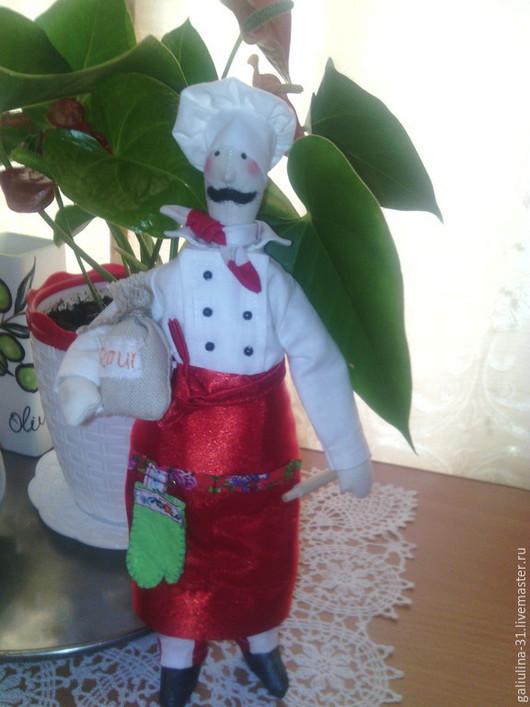 Куклы Тильды ручной работы. Ярмарка Мастеров - ручная работа. Купить Тильды повара в ассортименте. Handmade. Рыжий, подарок женщине