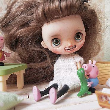 """Куклы и игрушки ручной работы. Ярмарка Мастеров - ручная работа Кастом долсена. """"I LOVE MICKEY"""". Handmade."""