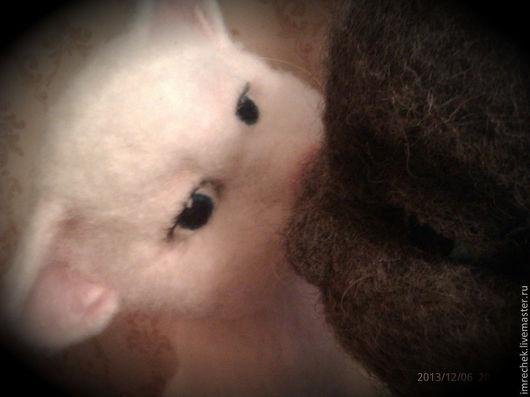 Игрушки животные, ручной работы. Ярмарка Мастеров - ручная работа. Купить Кошечка Агата. Handmade. Кошка, кошка из шерсти