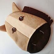 """Для дома и интерьера ручной работы. Ярмарка Мастеров - ручная работа Прихватка """"Кони - лошади"""". Handmade."""