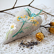 Для дома и интерьера ручной работы. Ярмарка Мастеров - ручная работа Ароматическое саше с лавандой. Handmade.