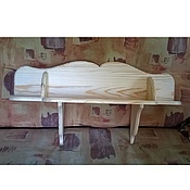 Для дома и интерьера ручной работы. Ярмарка Мастеров - ручная работа Полочка из дерева. Handmade.