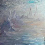 Картины и панно ручной работы. Ярмарка Мастеров - ручная работа Призрачные скалы. Handmade.