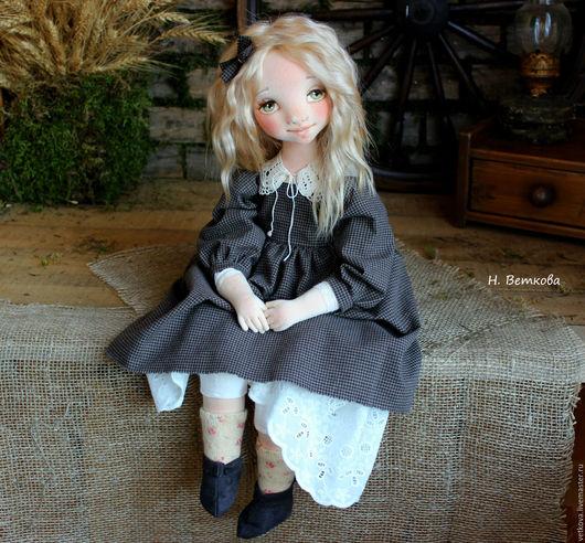 Коллекционные куклы ручной работы. Ярмарка Мастеров - ручная работа. Купить Асенька авторская текстильная коллекционная будуарная кукла. Handmade.