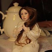 """Куклы и игрушки ручной работы. Ярмарка Мастеров - ручная работа Фарфоровая кукла """"Душенька"""". Handmade."""